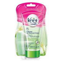 Veet Shea Butter And Lily Fragrance in Shower Hair Removal Cream 150ml