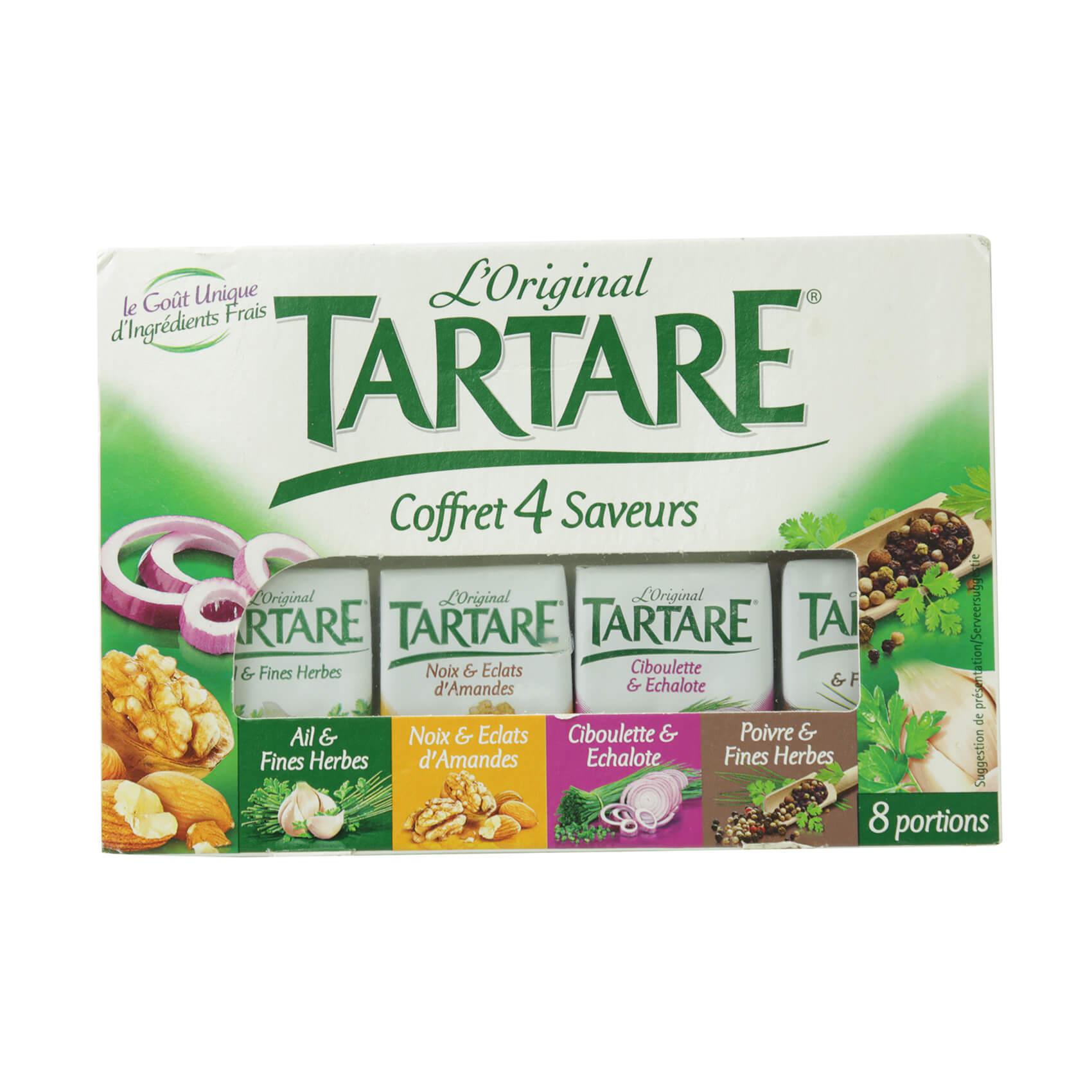 TARTARE COFFRET 4 SAVEURS 16.63GX8