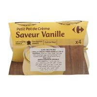 Carrefour Vanilla Cream/ Fresh Eggs 100g x 4