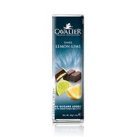 Cavalier Chocolate Bar Dark Lime & Lemon No Sugar 40GR