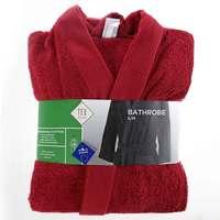 TEX Bathrobe S/M Dark Red