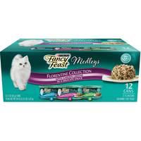 Purina Fancy Feast  Elegant Medleys Florentine Collection Cat Food 1.02Kg (12 Cans)