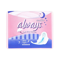 Always Ultra Sensitive Night With Wings 7 Pads