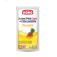 Domo Instant Drink Light Pineapple With Collagen 8GR