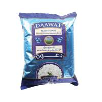 Daawat Traditional White Indian Basmati Rice 5kg