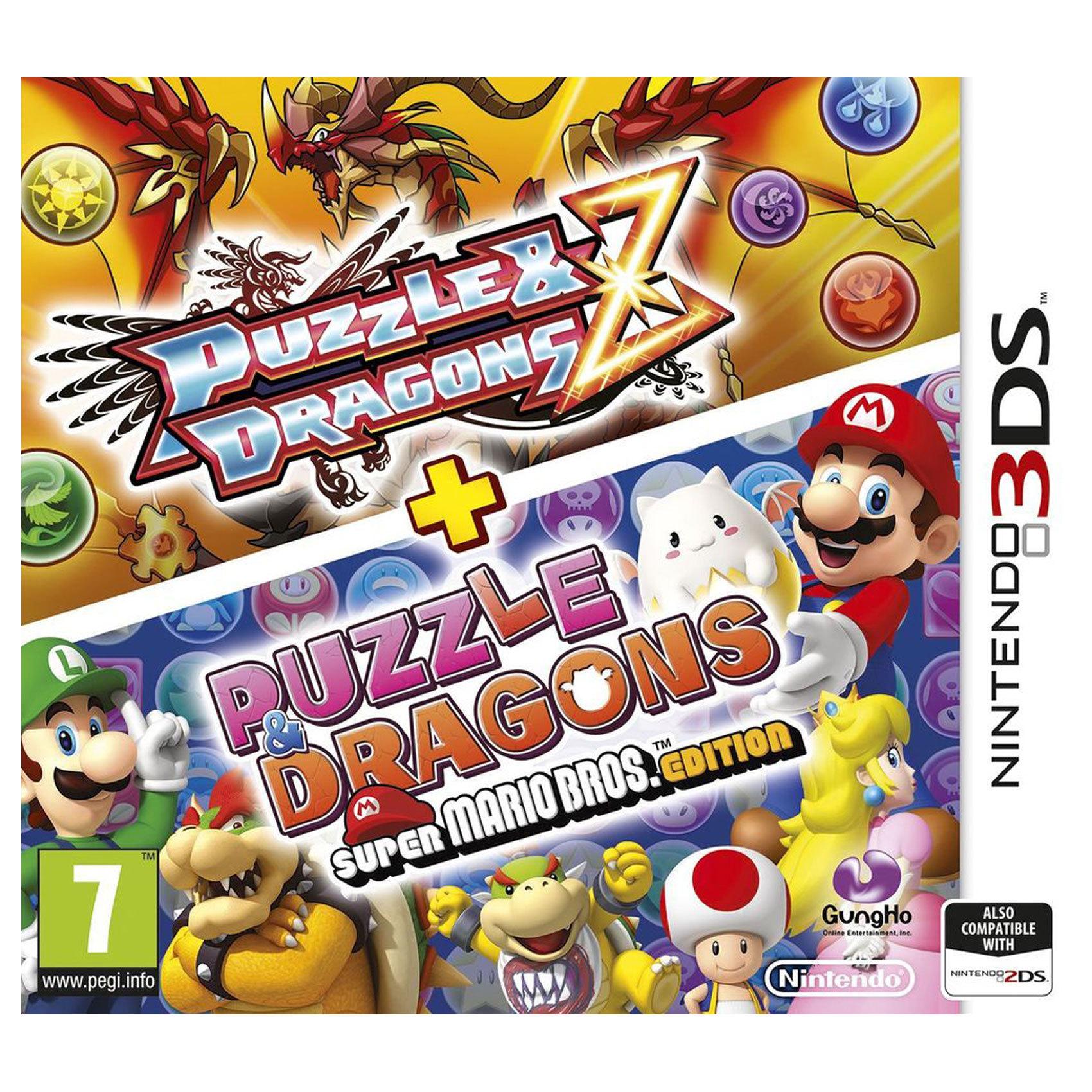 NINTENDO 3DS PUZZL&DRAG+SUPER MARIO