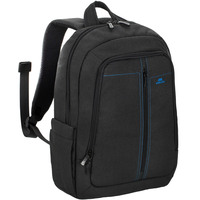 "RivaCase BackPack Canvas 7560 15.6"" Black"