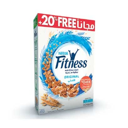 FITNESS CEREAL 450G +20%