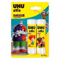 Uhu Glue Stick 21G 2Pcs Rio2 Motif