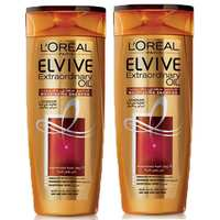 L'OREAL Elvive Shampoo Extraordinary Oil For Dry Hair 400 Ml 2 Pieces