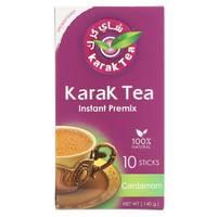 Karak Tea Instant Premix Cardamom 10 Sticks 140g
