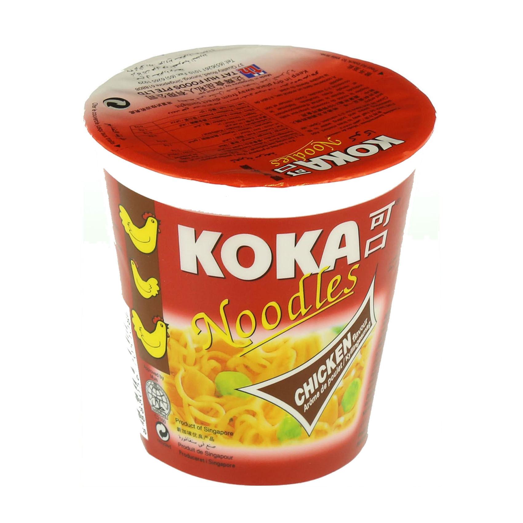 KOKA CUP NOODLE CHICKEN 70GR