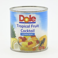 Dole Tropical Fruit Cocktail In Heavy Syrup 439 g