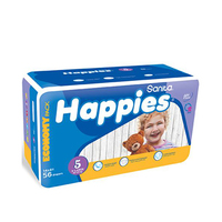 Happies Diapers Value X-Large 56 Pieces