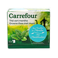 Carrefour Green Tea Mint 50's