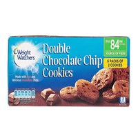 Weight Watchers Double Chocolate Chip Cookies 114g