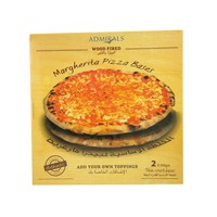 Admirals Wood Fired Margherita Pizza Bases 600g