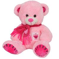 Cuddles Bear Pink Teddy 35Cm