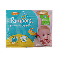 Pampers Diapers New Baby Mini Size 2 37 Pieces