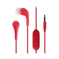 Motorola Single Row Earbuds 2 SH006 Red