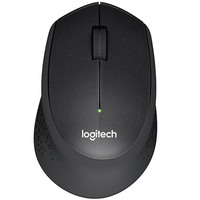 Logitech Mouse Wireless M330 Silent Plus Black