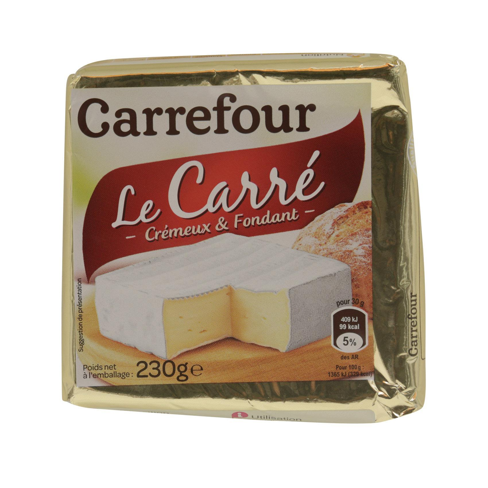 CRF CHEESE CARRE 230G