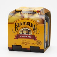 Bundaberg Ginger Beverage Bottle 340 ml