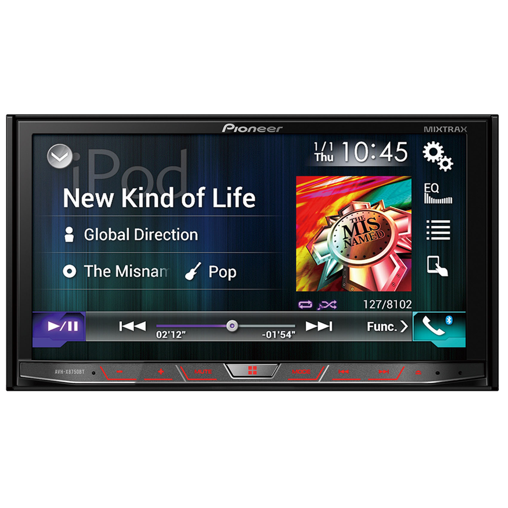 PIONEER CAR DVD AVH-X8750BT