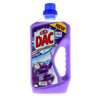 Dac Super Disinfection Lavender Multi-Purpose Cleaner 1 Liter