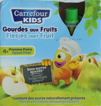 Carrefour Kids Apple/Pear Sauce 90g x4