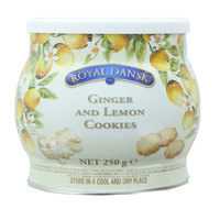 Royal Dansk Ginger & Lemon Cookies 250g