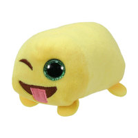 TY Teeny Tys Stackable Plush - Emoji - WINK 4""