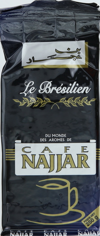 Najjar Coffee le Bresilien Nor.250g