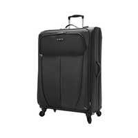 Exsport Expandable Luggage Bag Black 24 Inches