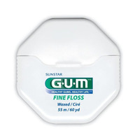 Gum fine Dental Floss Waxed 54.8M
