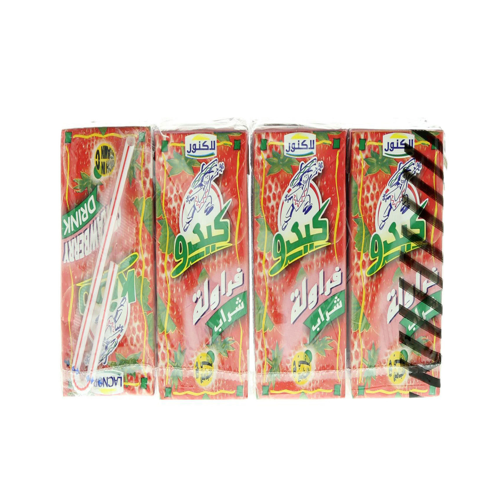LACNOR KIDO DRINK S/BERRY 125MLX8