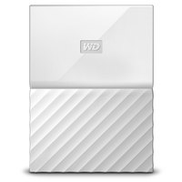 WD Hard Disk 4TB My Passport White Worldwide