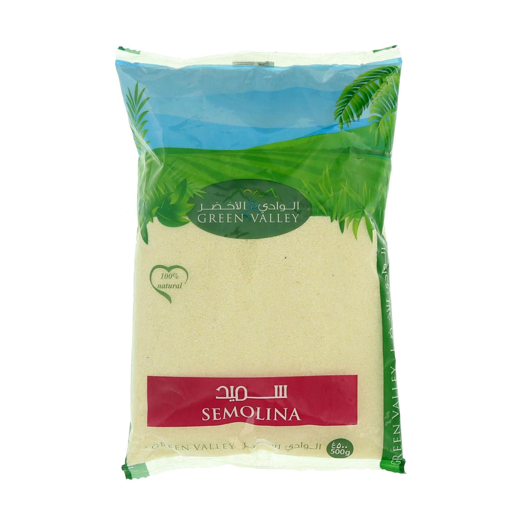 GREEN VALLEY SEMOLINA 500GR