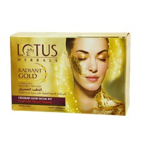 Lotus Herbals Radiant Gold Cellular Glow Facial Kit 37g