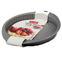 Prestige Base Flan Tin 31x3cm Non-Stick