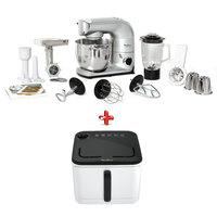 Moulinex Kitchen Machine QA625D27 + Air Fryer EZ-10A127