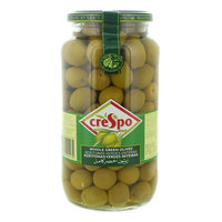 Crespo Whole Green Olives 907g