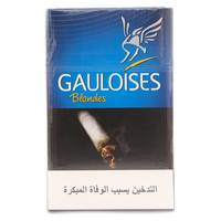 Gauloises Blondes Blue Cigarettes 20's