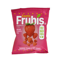 Natural Frubis Strawberry Snack 20g