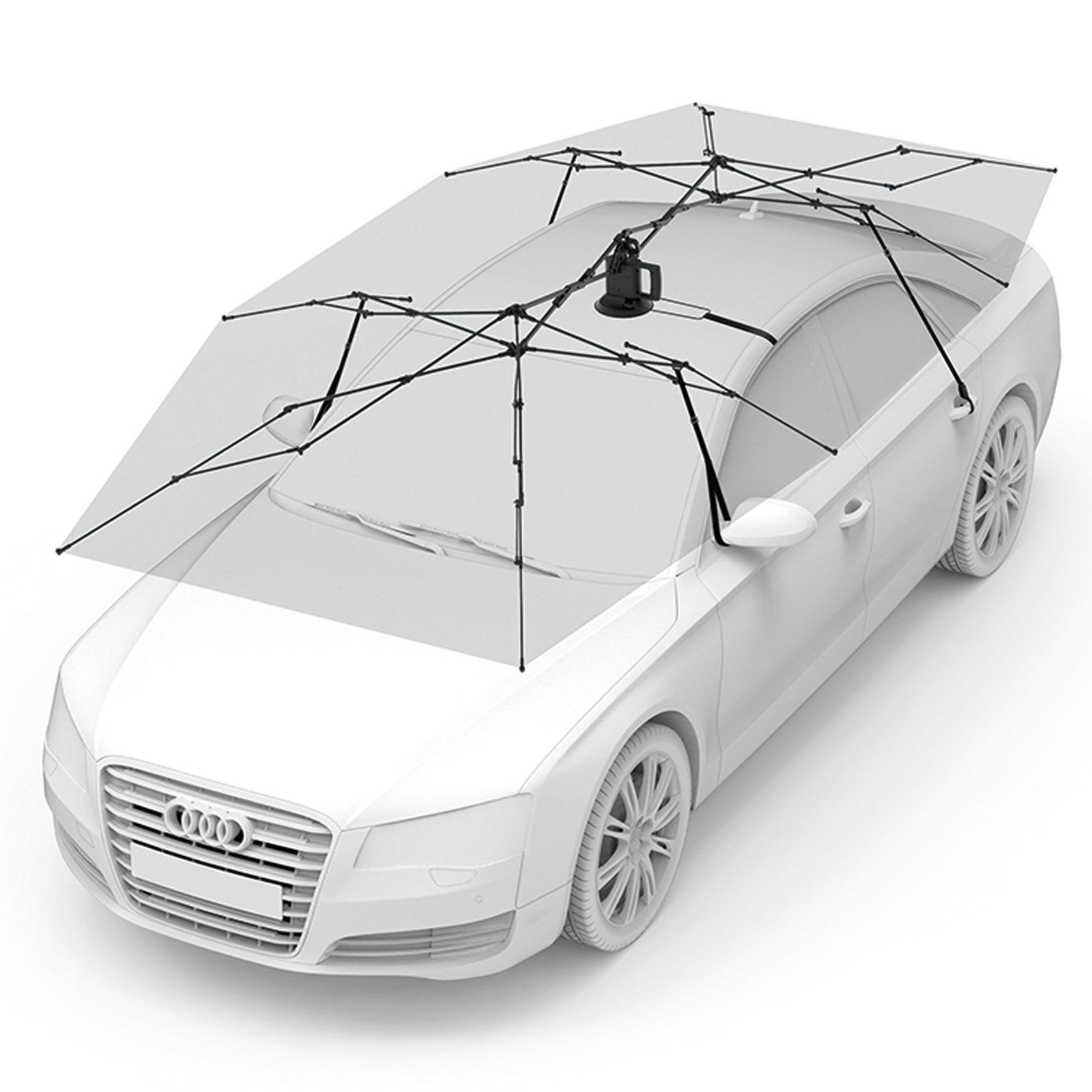PROMATE AUTO CAR UMBRELLA W/REMOTE