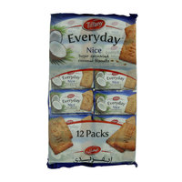 Tiffany Everyday Nice Sugar Sprinkled Coconut Biscuits 12x50g