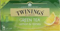 Twinings Green Tea Lemon & Honey 25's