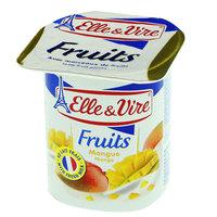 Elle & Vire Mango Fruits Dessert 125g