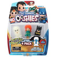 Ooshies 4 pack assorted DC Series 2