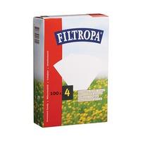 Filtropa White No 4 100 Sheets